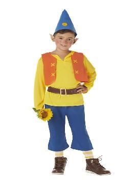 disfraz de enanito amarillo para infantil