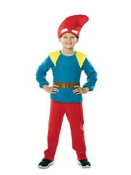 disfraz de enanito de bosque niño
