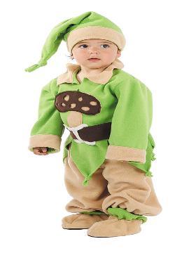 disfraz de enanito verde bebe varias tallas. Se convertirán en auténticos protagonistas del cuento infantil de Disney, con cuidado de no encontrarse con la madrastra. Este disfraz es ideal para tus fiestas temáticas de cuentos para infantil. fabricacion nacional