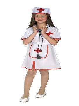 disfraz de enfermera barato para niña
