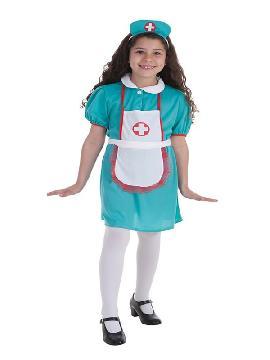 disfraz de enfermera de cirugia para niña