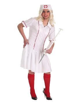 disfraz de enfermera divertida para hombre