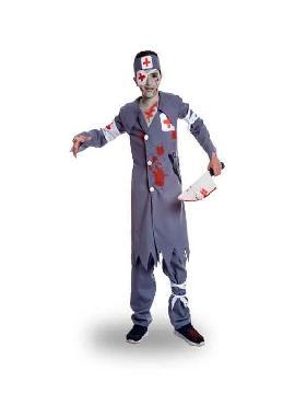 disfraz de enfermero asesino para niño