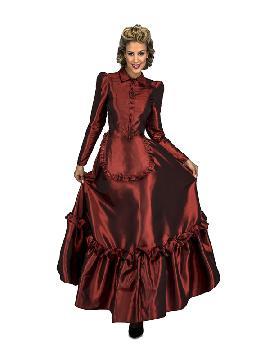 disfraz de escarlata del oeste para mujer