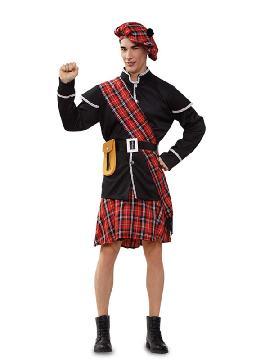 disfraz de escoces barato hombre
