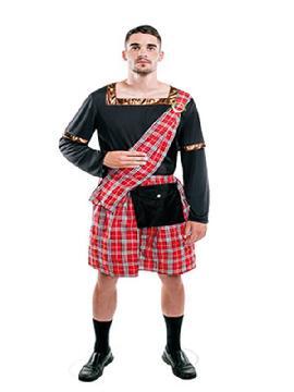 disfraz de escoces original hombre