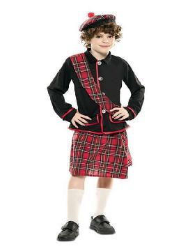 disfraz de escoces para niño