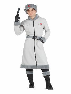 disfraz de espia ruso para hombre