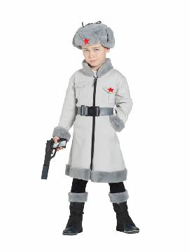 disfraz de espia ruso para niño