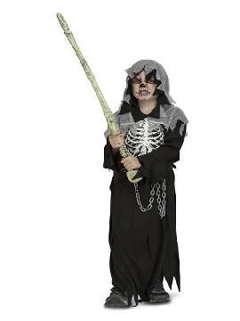 disfraz de esqueleto ejecutor para niño