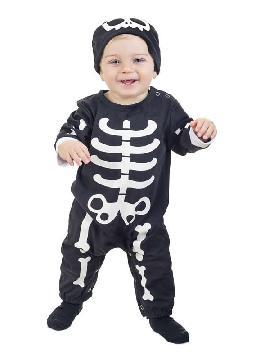disfraz de esqueleto para bebe