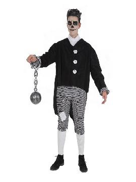 disfraz de esqueleto skeletboy para hombre