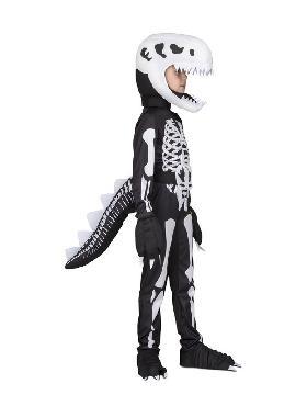 disfraz de esqueleto t rex para niños