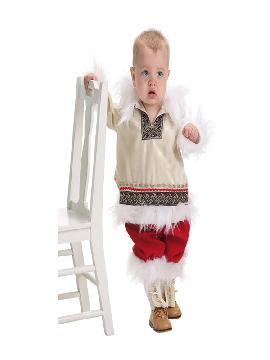 disfraz de esquimal clasico para bebe