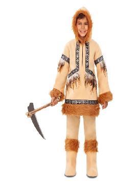 disfraz de esquimal deluxe para niño