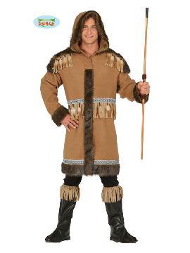 disfraz de esquimal elegante hombre