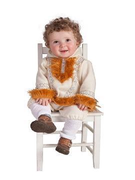 disfraz de esquimal nui para bebe