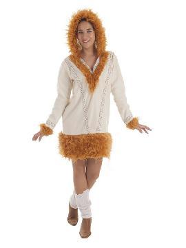 disfraz de esquimal nui para mujer