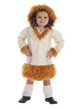 disfraz de esquimal nui para niña