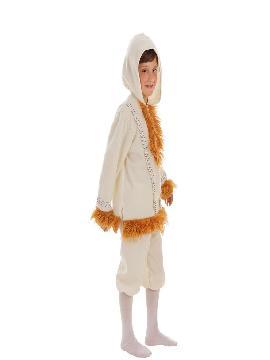 disfraz de esquimal nui para niño