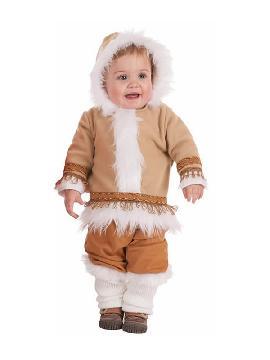 disfraz de esquimal para bebe