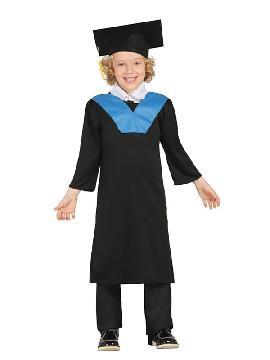 disfraz de estudiante lincenciado niño