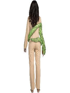 disfraz de eva con serpiente para mujer