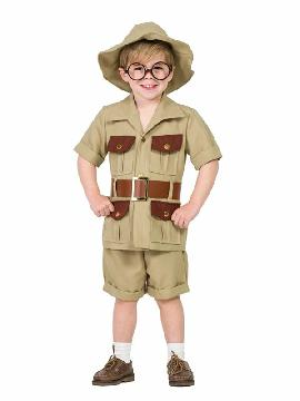 disfraz de explorador para niño
