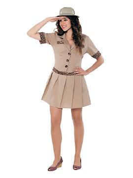 disfraz de exploradora safari para mujer