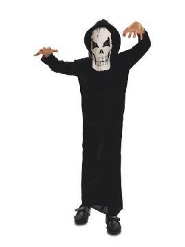 disfraz de fantasma de la muerte para niño