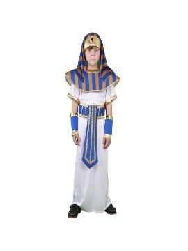 disfraz de faraon para niño infantil. Prepárate para la Fiesta faronas más divertida en carnaval y fiestas temanticas.Este disfraz es ideal para tus fiestas temáticas de disfraces romanos y egipcios para niña infantiles.