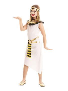 disfraz de faraona para niña