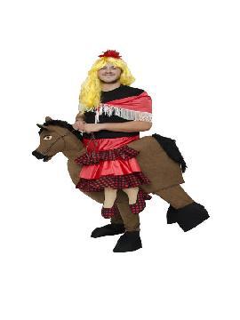 disfraz de flamenca en caballo adulto