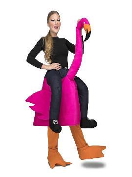 disfraz de flamenco a hombro adulto
