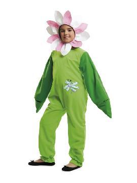 disfraz de flor libelula para niña