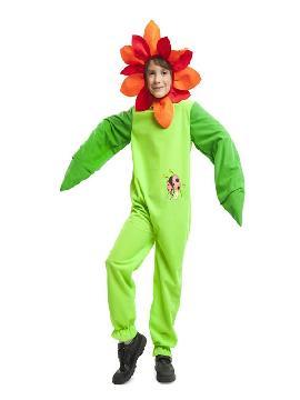 disfraz de flor mariquita para niño