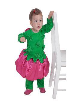 disfraz de florecilla para bebe