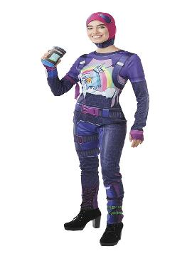 disfraz de fortnite brite bomber para niños y adolescente
