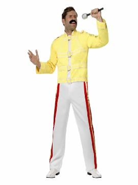 disfraz de freddie mercury queen hombre