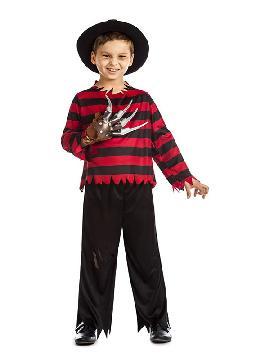 disfraz de freddy krueger niño