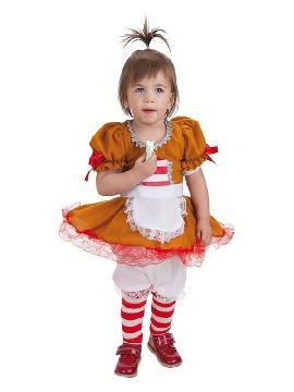 disfraz de galleta de jengibre para bebe