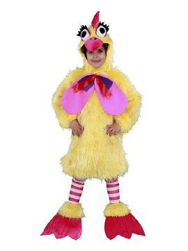 disfraz de gallina caponata niña infantil. Este comodísimo traje es perfecto para carnavales, espectáculos, cumpleaños.Este disfraz es ideal para familias o tus fiestas temáticas de disfraces de animales, gallos y gallinas para niñas y niños