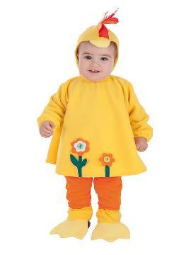 disfraz de gallina loca divertida bebe