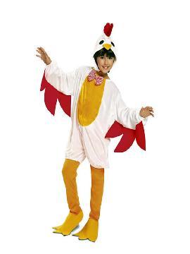 disfraz de gallina para niña