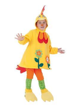 disfraz de gallo loco para niño