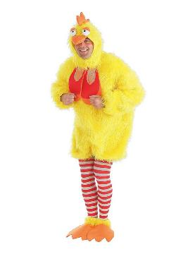 disfraz de gallo peluche para hombre