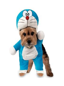 disfraz de gato doraemon para perro