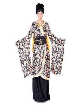 disfraz de geisha flores para mujer