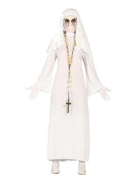 disfraz de ghost monja mujer