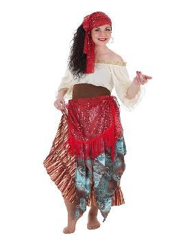 disfraz de gitana zingara para mujer